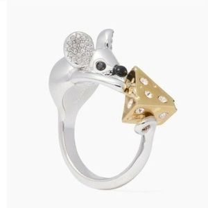 Authentic rare Kate Spade Ray ring